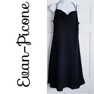 *Evan Picone* Black, Size 14, Lined Dress